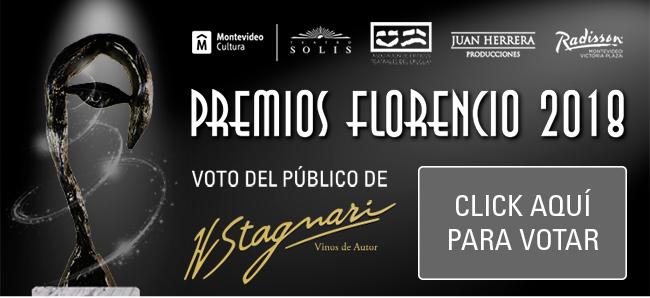 VOTO DEL PÚBLICO PREMIOS FLORENCIO 2018