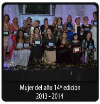 Mujer del año décimo cuarta edición - 2013 - 2014