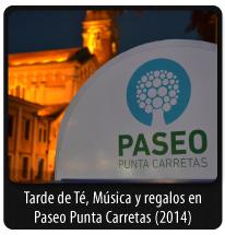 TARDE DE TÉ, MÚSICA Y REGALOS EN PASEO PUNTA CARRETAS 2014