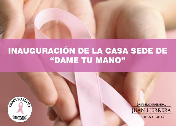 Dame tu mano lucha contra el cancer