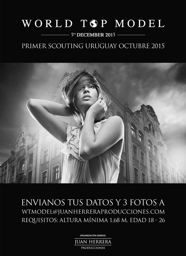 WORLD TOP MODEL URUGUAY SCOUNTING FLYER