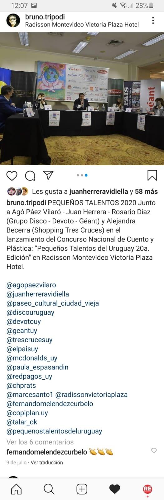 Bruno Tripodi Instagram 2