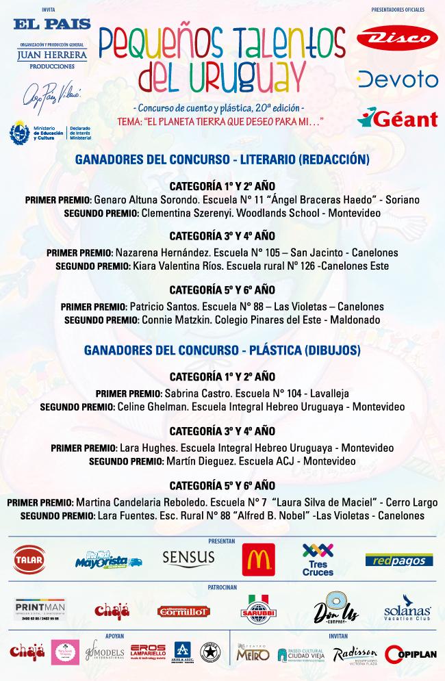 GANADORES-PEQUEÑOS-TALENTOS-DEL-URUGUAY-2020